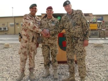 Brigadegeneral Laubenthal, Major General Jörg Vollmer in RC North ISAF