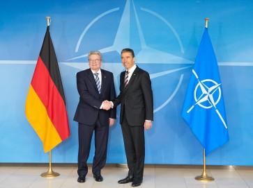 The President of Germany visits NATO Headquarters