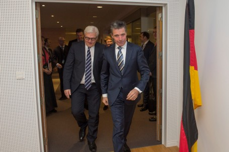 The Minister of Foreign Affairs of Germany visits NATO