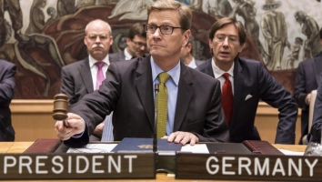 BM Westerwelle in New York