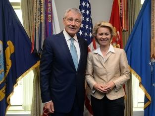 Ministerin von der Leyen in USA 2014