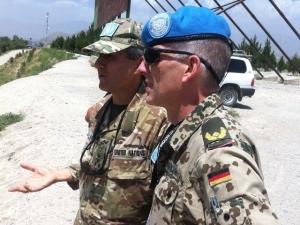 Brigadegeneral Kay Brinkmann in UNAMA