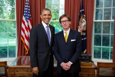 President Barack Obama Ambassador Dr.Hans Peter Wittig