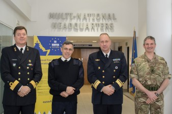 Rear Admiral Thörnqvist visited EU Naval Force Operational Headquarters in London February 2015