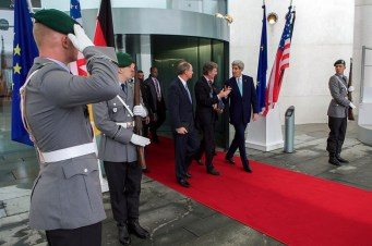 Secretary of State John Kerry in Berlin October 2014 (2)