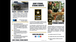 Army Strong, Strong Europe 2015