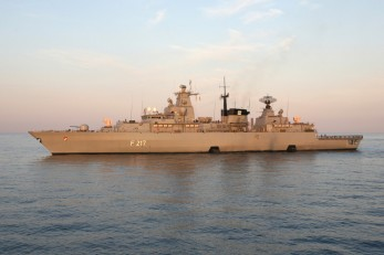 Fregatte BAYERN im UNIFIL-Einsatz 2007