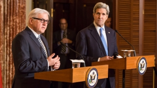 Joint press conference Steinmeier and Kerry