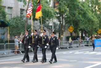 1-General von Steuben parade in New York City September 2015
