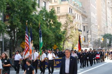 6-General von Steuben parade in New York City September 2015