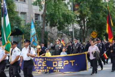 7-General von Steuben parade in New York City September 2015