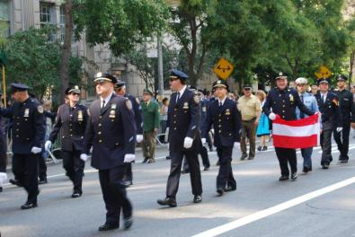 8-General von Steuben parade in New York City September 2015