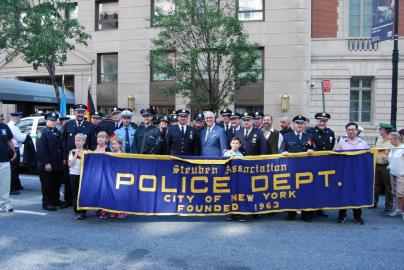 9-General von Steuben parade in New York City September 2015