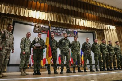 Die Bundeswehr in the European Best Squad competition 2015