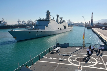 SNMG2 arrival to Haifa for a PVST