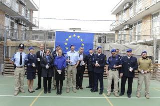 Medal Parade at EUPOL HQ Kabul Nov.2015
