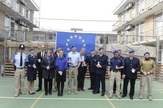 Medal Parade at EUPOL HQ Kabul Nov.2015