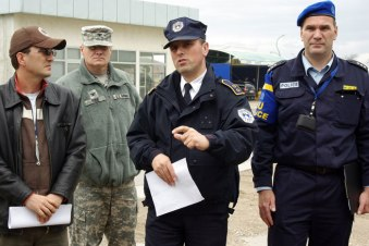 USNational Guard with EULEX Kosovo 2010