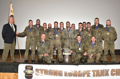 Die Bundeswehr wins the Strong Europe Tank Challenge of 2016. US Army Europe May 13 2016