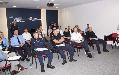 EULEX Officers in Drug Detection Training Course at Pristina International Airport May 2016